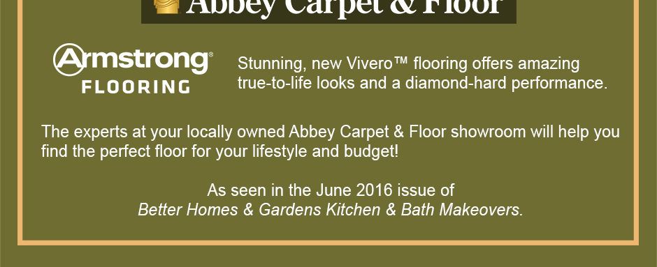Stunning, new Vivero™ flooring offers amazing true-to-life looks and a diamond-hard performance.