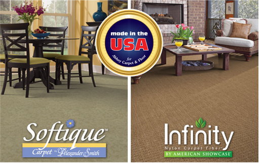 Made in the USA for Abbey Carpet & Floor®