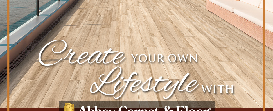 Create Your Own Lifestyle with Abbey Carpet & Floor. Daltile Style: Saddle Brook XT™ | Color: Oak Trail