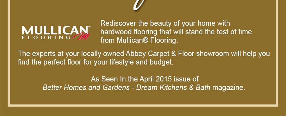 Rediscover the beauty of your home with hardwood flooring that will stand the test of time from Mullican® Flooring